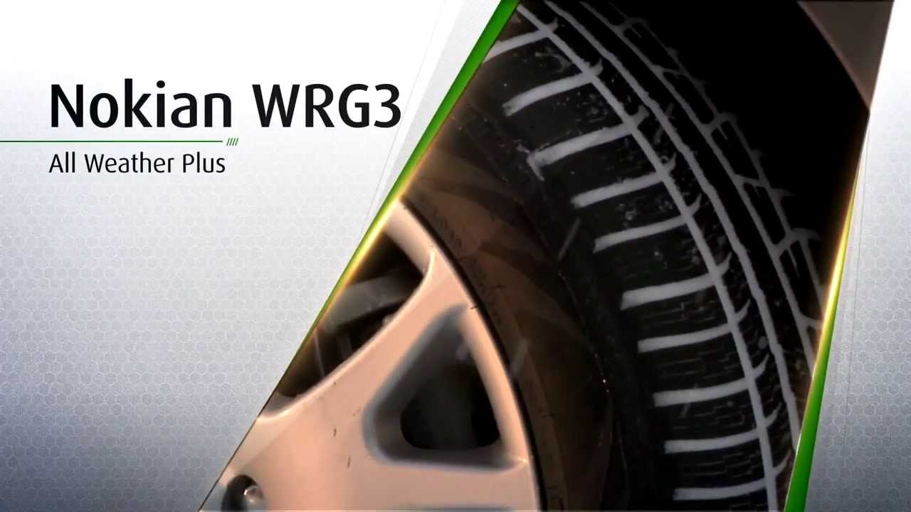 All Weather Tires >> Nokian WRG3 Infomercial - YouTube