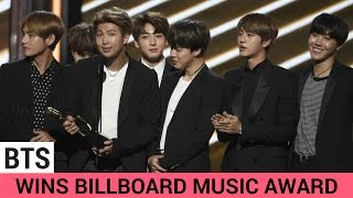 BTS Wins BIG At The Billboard Music Awards 2017