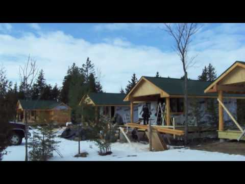 Ep. 17 - Construction of Medium (4-person) Cabins w/ bath at Mackinaw Mill Creek Camp