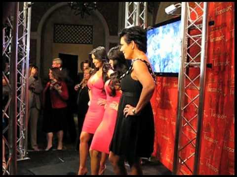 Kim Kardashian Unveils Wax Figure At Madame Tussauds in NYC