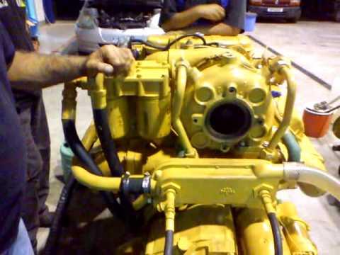 CATERPILLAR MARINE ENGINE 3208 KSG ENTERPRISES GARAGE YouTube
