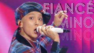 Hot Mino Fiance 송민호 아낙네 Show Music Core 20181215
