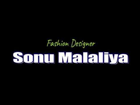 The fashion designer sonu malaliya with showstopper model pooja soni(2)