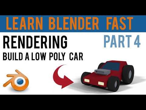 Blender Basics - Part 4 | Rendering | quick and easy