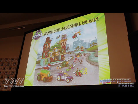 Playmates Toys SDCC 2014 Teenage Mutant Ninja Turtles Action Figure Panel