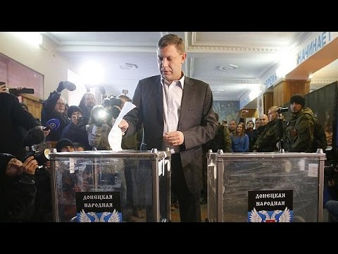 Pro-Russia rebels hold elections in eastern Ukraine
