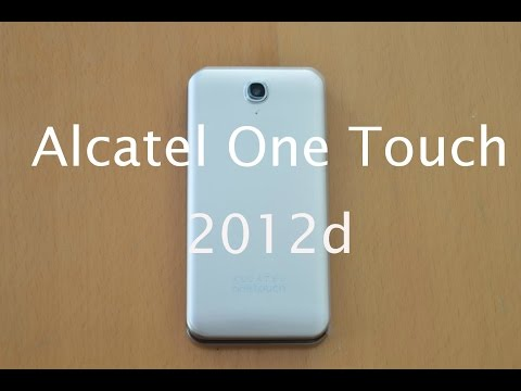 Alcatel 2012d (English Review)
