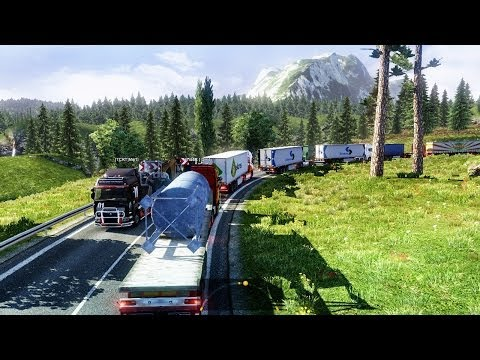 Euro Truck Simulator 2 Multiplayer | Long Convoy | Turkey | TRUCKMP | Gameplay | Part #2 |