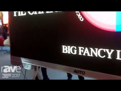 ISE 2017: AOTO Electronics Commercial LED Display 136