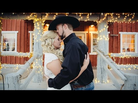 Rustic Barn Wedding Video for Andrea & Tyler's Linden Utah Wedding Videographer
