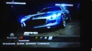Need for speed hot persuit Mercedes SLS en español