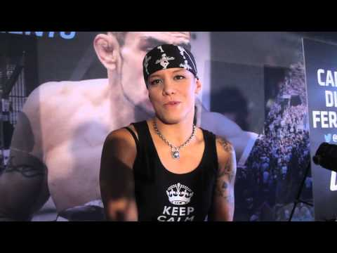 Shayna Baszler Talks Pro Wrestling and History of the Four Horsewoman UFC 177 Pre Fight