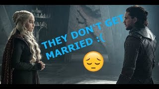 Daenerys Won't Marry Jon Snow - THEORY BUSTED!