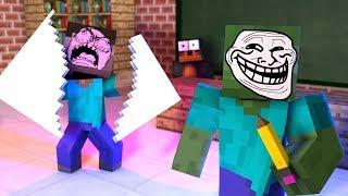 Monster School: DRAWING CHALLENGE!! - Minecraft Animation