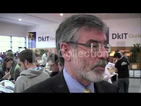 FILE:GERRY ADAMS-ARRESTED IN NORTHERN IRELAND
