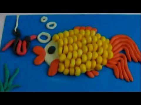 поделки из пластилина своими руками для детей схемы