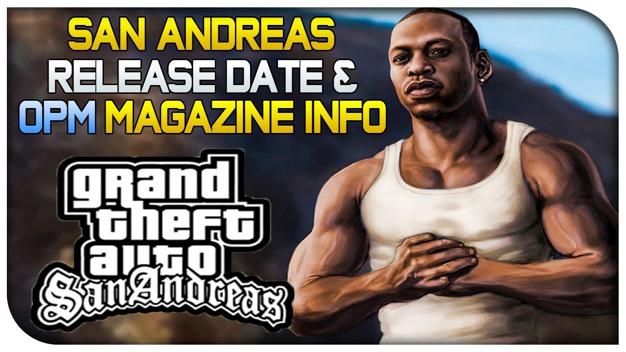Gta san andreas release date