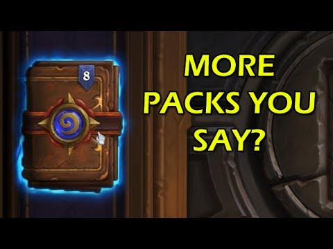 how to get more packs in hearthstone