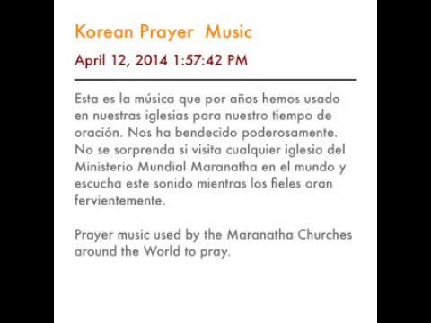 Korean Prayer Music- Música  de Oración Coreana