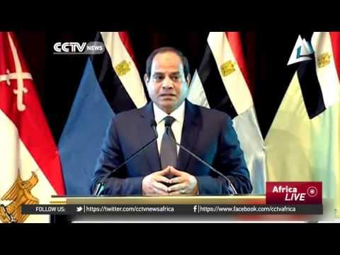 Egyptian President Sisi says government investigating plane crash