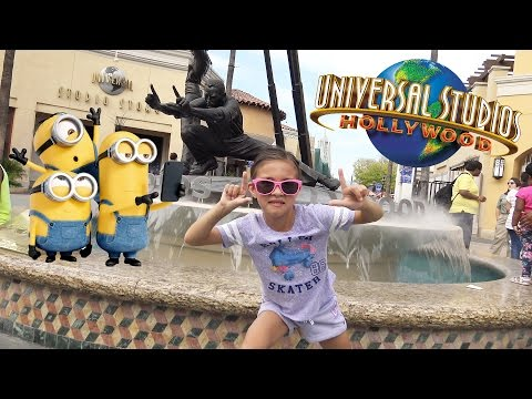 EvanTubeHD Goes to UNIVERSAL STUDIOS! Minion Mayhem!