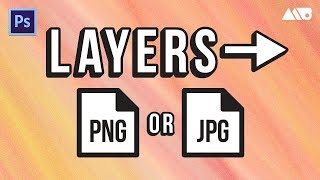 How to Quickly Export Layers into PNGs in Adobe Photoshop Tutorial