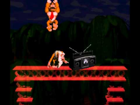 Donkey Kong Country - Donkey Kong Country intro (SNES) - User video