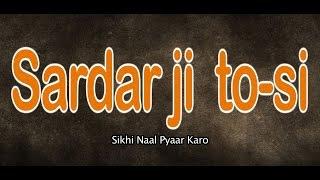 SARDAR JI TO-SI SIKHI NAAL PYAAR KARO| NEW FULL PUNJABI MOVIE | LATEST PUNJABI MOVIES 2016