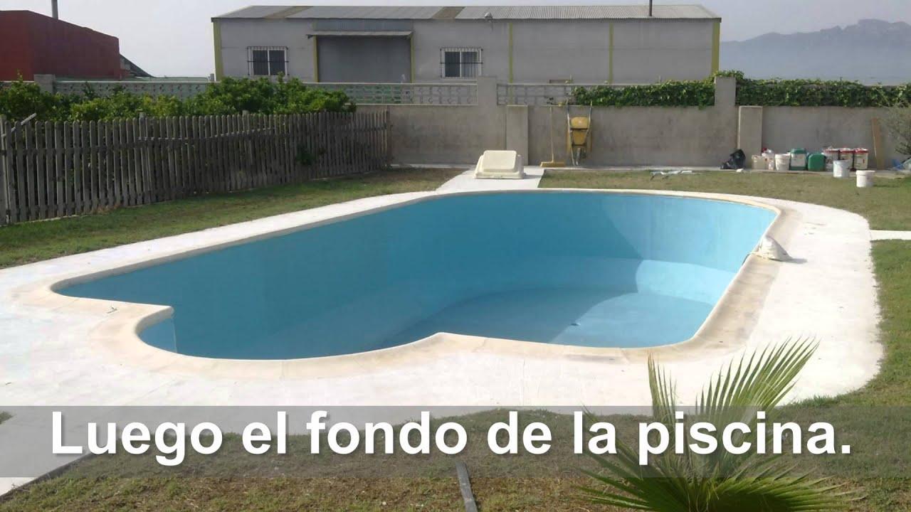 Barpool piscinas revestimiento piscina liner con fibra for Revestimientos de piscinas