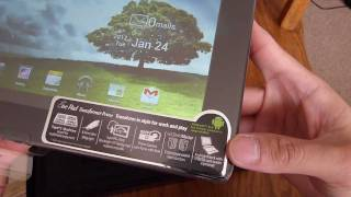 Asus Transformer Prime unboxing