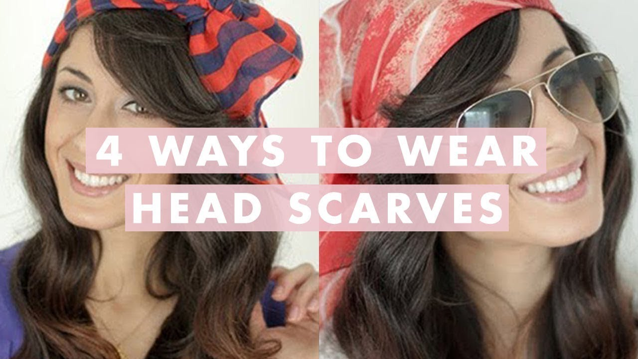 4 Ways To Wear A Scarf On Your Head For Spring