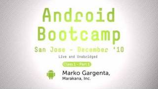 Android Bootcamp Training