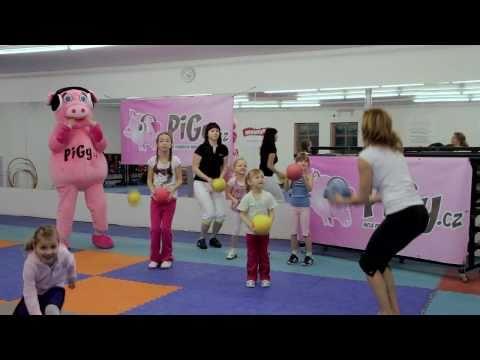 Pigy cvičení s Hankou Kynychovou: s míčkem