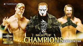 "WWE Night Of Champions 2015 Official Theme Song ""Night Of Gold"" ᴴᴰ"