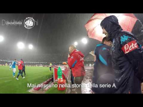 Gonzalo Higuain record 36 gol serie A Napoli Frosinone Stadio San Paolo