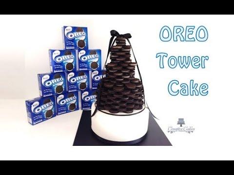 How to make an Oreo Cake Tower - Oreo torta
