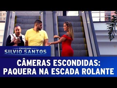 Paquera na Escada Rolante | Câmeras Escondidas (11/06/17)