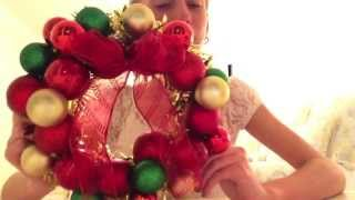 ❄  E.I.Y. - Christmas Ornament Wreath  ❄