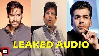 Karan-KRK- Ajay controversy LEAKED AUDIO   Bollywood   Tellychakkar 