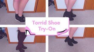 Plus Size Torrid Shoe Try-On. Size 9 1/2 Wide Width.