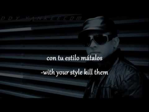 Daddy Yankee- Pasarela- English & Spanish Lyrics video