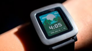 Tested In-Depth: Pebble Time Smartwatch