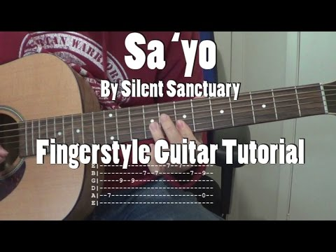 Sa Yo  By Silent Sanctuary Fingerstyle Guitar Tutorial Cover (w/ Tabs)