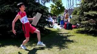 QWOP Cosplay At Anime North 2013