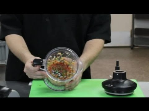 How to Make Pico De Gallo With a Food Chopper : Taco Night