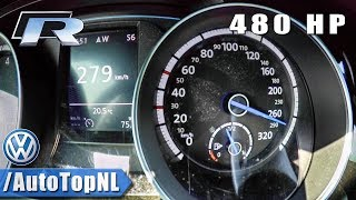 480HP VW Golf R MK7 | 0-279km/h ACCELERATION & TOP SPEED | by AutoTopNL