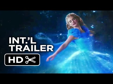 Cinderella International TRAILER 2 (2015) - Lily James, Helena Bonham Carter Disney Movie HD