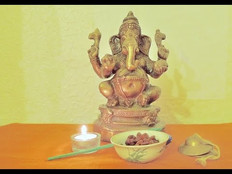 Simple Ganesh Pooja With Mantra video