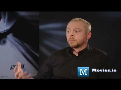 Simon Pegg talks STAR TREK - Beam Me Up Scotty!