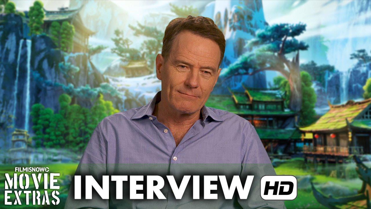 Kung Fu Panda 3 (2016) Behind the Scenes Movie Interview - Bryan Cranston is 'Li'